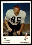 1961 Fleer #153  Joe Young  Front Thumbnail