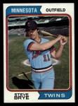 1974 Topps #232  Steve Brye  Front Thumbnail