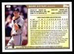 1999 Topps #91  Mark Kotsay  Back Thumbnail