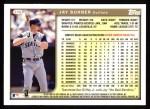 1999 Topps #376  Jay Buhner  Back Thumbnail