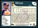 2001 Topps #32  Pokey Reese  Back Thumbnail