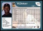 2001 Topps #659  Calvin Murray  Back Thumbnail