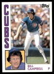 1984 Topps #787  Bill Campbell  Front Thumbnail
