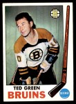 1969 Topps #23  Ted Green  Front Thumbnail
