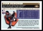 1996 Topps #42  Sean Bergman  Back Thumbnail