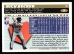 1996 Topps #28  Rich Becker  Back Thumbnail