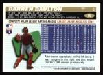 1996 Topps #85  Darren Daulton  Back Thumbnail