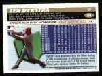 1996 Topps #261  Len Dykstra  Back Thumbnail