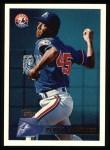 1996 Topps #303  Pedro Martinez  Front Thumbnail