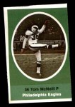 1972 Sunoco Stamps  Tom McNeill  Front Thumbnail