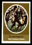 1972 Sunoco Stamps  John Didion  Front Thumbnail