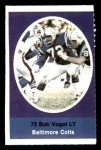 1972 Sunoco Stamps  Bob Vogel  Front Thumbnail