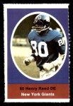 1972 Sunoco Stamps  Henry Reed  Front Thumbnail