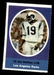1972 Sunoco Stamps  Jim Nettles  Front Thumbnail