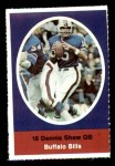 1972 Sunoco Stamps  Dennis Shaw  Front Thumbnail