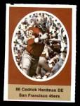 1972 Sunoco Stamps  Cedrick Hardman  Front Thumbnail