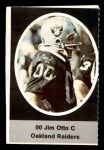 1972 Sunoco Stamps  Jim Otto  Front Thumbnail