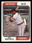1974 Topps #409  Ike Brown  Front Thumbnail