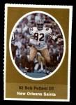 1972 Sunoco Stamps  Bob Pollard  Front Thumbnail