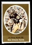 1972 Sunoco Stamps  Doug Wyatt  Front Thumbnail