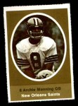 1972 Sunoco Stamps  Archie Manning  Front Thumbnail