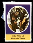 1972 Sunoco Stamps  Ed White  Front Thumbnail
