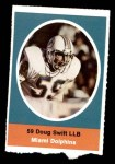 1972 Sunoco Stamps  Doug Swift  Front Thumbnail