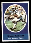 1972 Sunoco Stamps  Lance Rentzel  Front Thumbnail