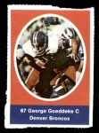 1972 Sunoco Stamps  George Goeddeke  Front Thumbnail