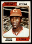 1974 Topps #646  George Foster  Front Thumbnail