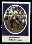 1972 Sunoco Stamps  Bob Lilly  Front Thumbnail