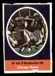 1972 Sunoco Stamps  Ed O'Bradovich  Front Thumbnail