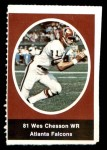 1972 Sunoco Stamps  Wes Chesson  Front Thumbnail