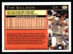 1997 Topps #320  Tim Salmon  Back Thumbnail