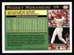 1997 Topps #64  Mickey Morandini  Back Thumbnail