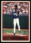 1997 Topps #164  Jose Offerman  Front Thumbnail