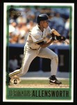 1997 Topps #341  Jermaine Allensworth  Front Thumbnail