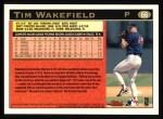 1997 Topps #66  Tim Wakefield  Back Thumbnail