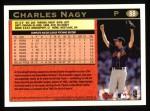 1997 Topps #88  Charles Nagy  Back Thumbnail