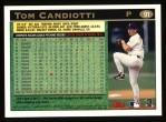 1997 Topps #91  Tom Candiotti  Back Thumbnail