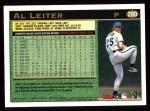 1997 Topps #280  Al Leiter  Back Thumbnail