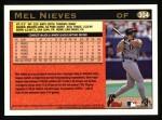 1997 Topps #304  Mel Nieves  Back Thumbnail