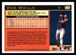 1997 Topps #357  Bob Wells  Back Thumbnail