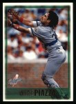 1997 Topps #20  Mike Piazza  Front Thumbnail