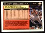 1997 Topps #59  Gary DiSarcina  Back Thumbnail