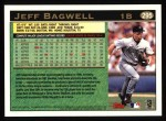1997 Topps #295  Jeff Bagwell  Back Thumbnail