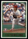 1997 Topps #368  Curt Schilling  Front Thumbnail
