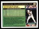 1997 Topps #341  Jermaine Allensworth  Back Thumbnail