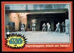 1977 Topps Star Wars #103   Stormtroopers attack our heroes Front Thumbnail
