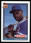 1991 Topps #135  Jerome Walton  Front Thumbnail